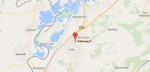 Koenen's Autobedrijf Echt - Route