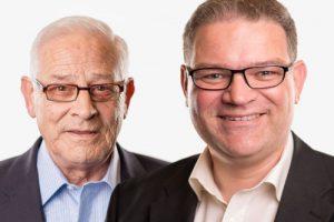 Hein en Andy Koenen